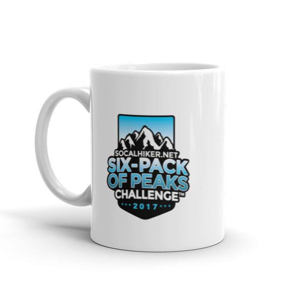 2017 Six-Pack of Peaks mug